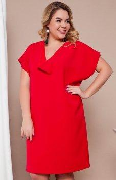 Cover TR1758 sukienka czerwona