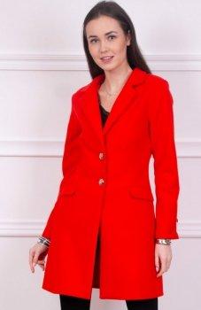 Roco 008 płaszcz wełniany czerwony