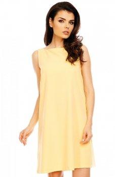 Nommo NA486 sukienka żółta