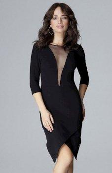 Lenitif L012 sukienka czarna