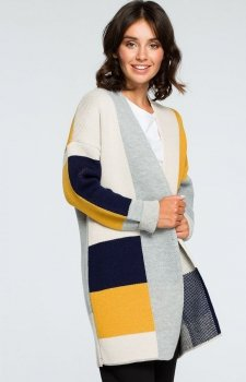 BE BK011/2 sweter kolorowy