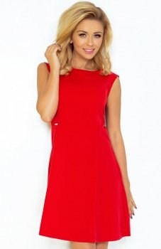 SAF 137-2 sukienka czerwona