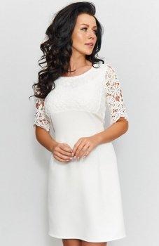 Roco 0205 sukienka ecru