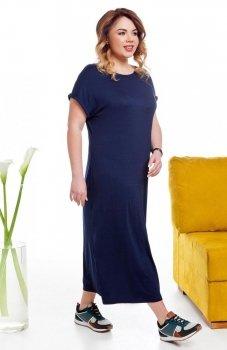 Cover TR2014 sukienka niebieska