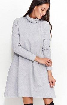 *Numinou NU52 sukienka szara