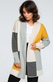 BE BK011/1 sweter kolorowy