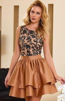 Roco 0173 sukienka złota