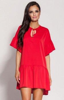 Dursi Lila sukienka czerwona