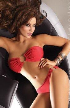 *Livia Corsetti Amphitrite red kostium kąpielowy
