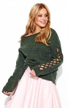 Makadamia S65 sweter khaki