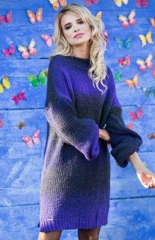 Fobya F582 sukienka ultraviolet