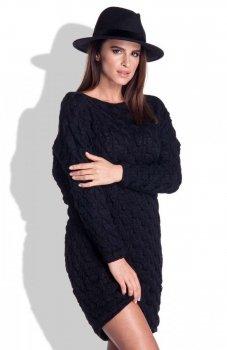 FIMFI I155 sukienka czarna