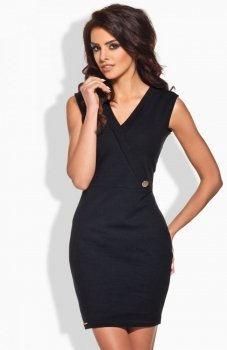 *Lemoniade L134 sukienka czarna
