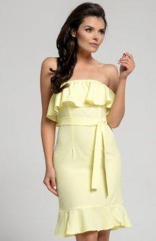 Nommo NA303 sukienka żółta