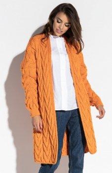 Fobya F573 sweter pomarańczowy