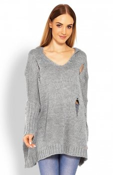 PeekaBoo 30055 sweter szary