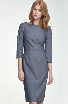 Nife S80 sukienka szara