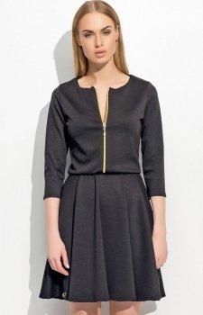 Makadamia M306 sukienka czarna