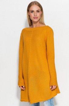 Makadamia S45 sweter musztardowy