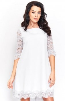Roco 0188 sukienka szara