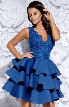 Bicotone 2127-05 sukienka chabrowa
