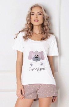 Aruelle Woof piżama krótka
