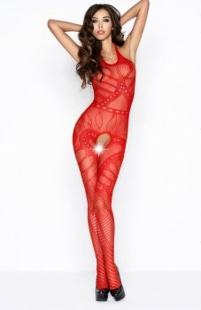 Passion BS037 bodystocking czerwone