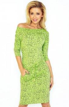 SAF 13-50 sukienka jasno zielona