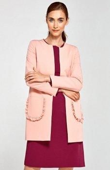 Nife Z23R płaszcz różowy
