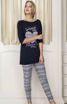 Esotiq Denim 33558-99X piżama