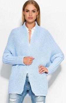 Makadamia S46 sweter błękitny