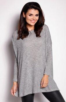 Awama A154 sweter szary