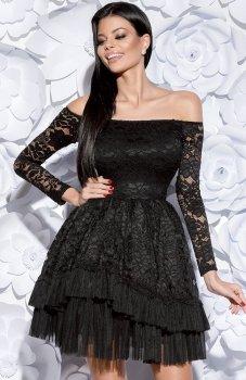 Bicotone 2131-06 sukienka czarna
