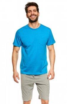 Henderson Universe 36600-55X piżama niebiesko-szara