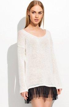 Makadamia S36 sweter ecru