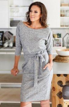 Lapasi L027 sukienka szara