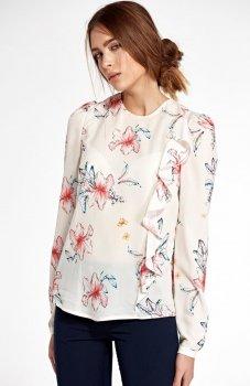 Nife B93K/E bluzka w kwiaty