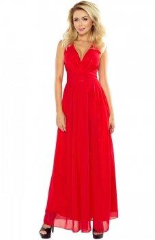 Numoco 166-2 sukienka czerwona