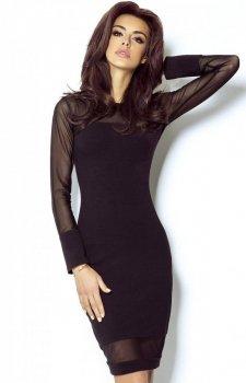 *Ivon 207 sukienka czarna