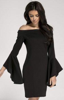 Ołówkowa sukienka z hiszpańskim rękawem NA1009