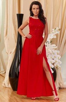 *Roco 0170 sukienka czerwona