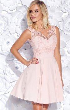 Bicotone 2156-12 sukienka pudrowa