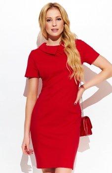 Makadamia M412 sukienka czerwona