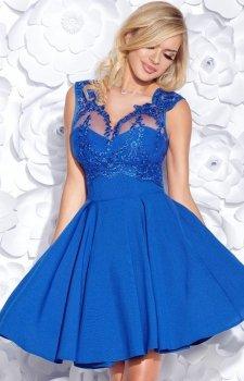 Bicotone 2156-05 sukienka chabrowa