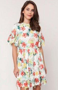 Milena Płatek MP599 sukienka w kwiaty