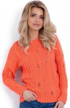 Fobya F624 sweter pomarańczowy