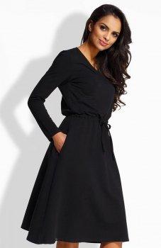*Envy EM140 sukienka czarna