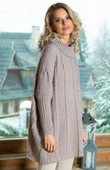 Fobya F618 sweter mocca