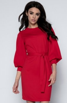 Fobya F495 sukienka czerwona