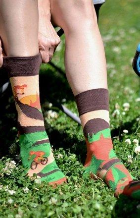 Spox Sox Rowery kolorowe skarpetki